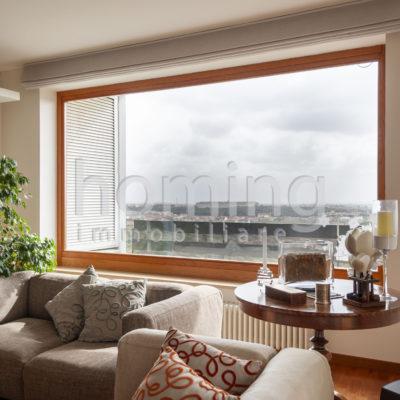 Finestra panoramica del soggiorno