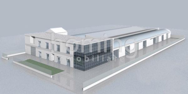 Capannone industriale di 4200 mq a casapulla homing for Capannone di 300 metri quadrati