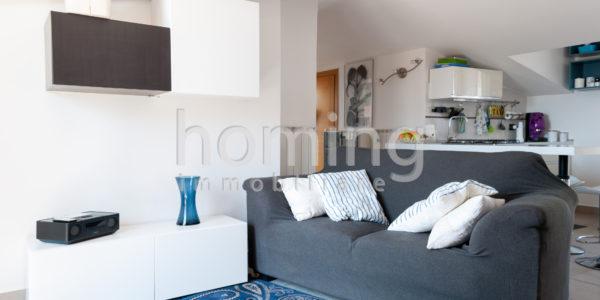 Mansarda con terrazza panoramica - Homing ImmobiliareHoming Immobiliare