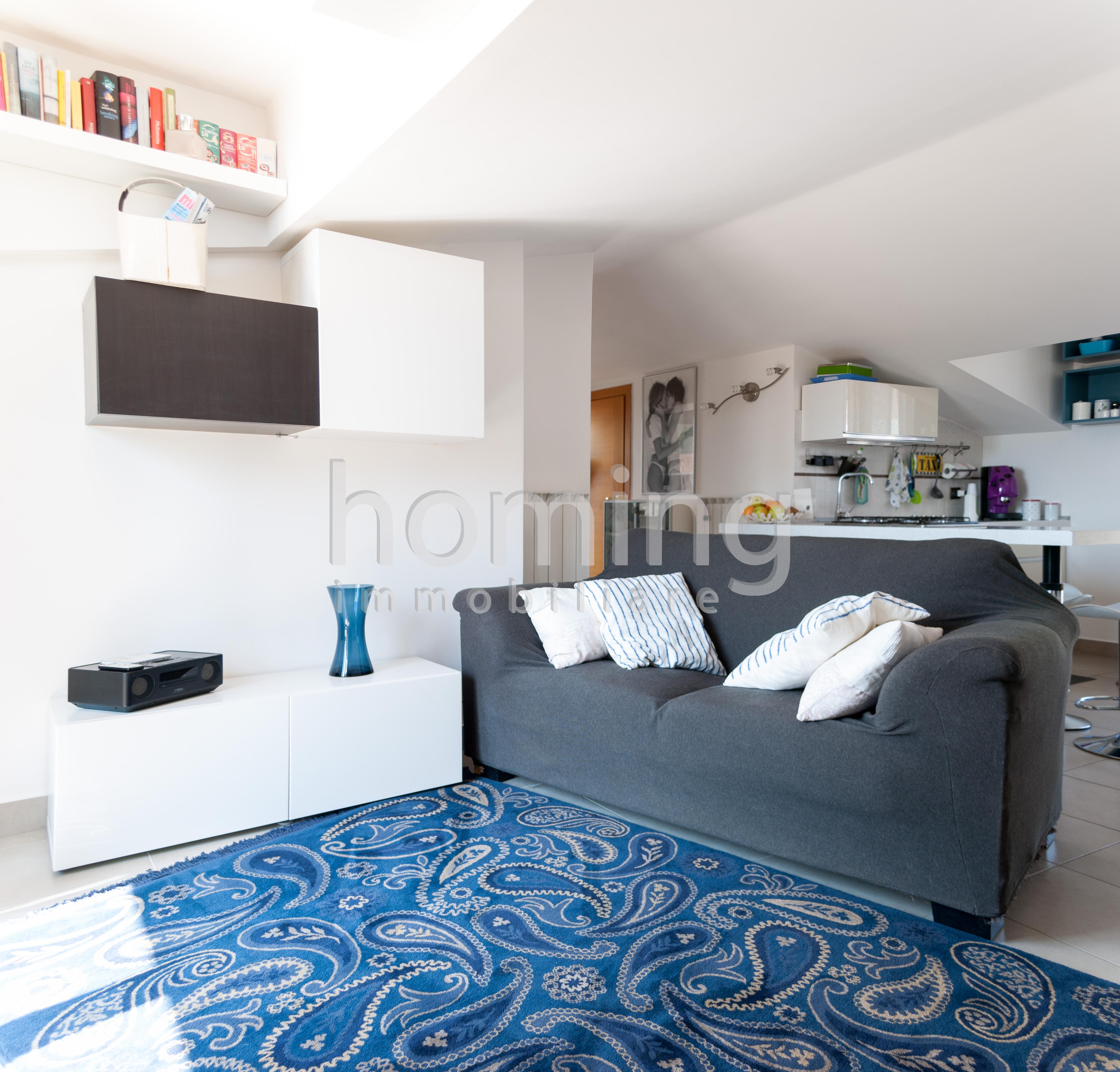 Mansarda con terrazza panoramica homing for Piani di appartamento garage a buon mercato