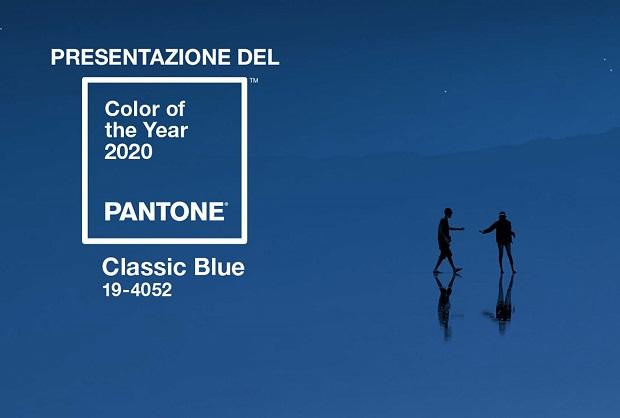 Classic Blue Pantone. Colore dell'anno